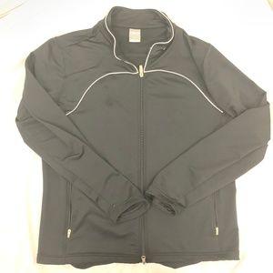 NIKE FIT DRY Black Track Jacket XXL